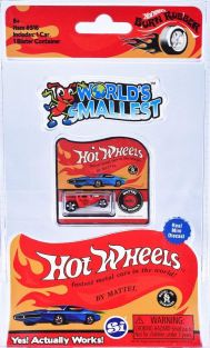 WORLD'S SMALLEST HOT WHEELS #9