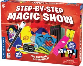 STEP-BY-STEP MAGIC SHOW SET #6