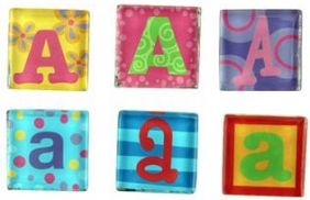 MAGNETIC LETTER A