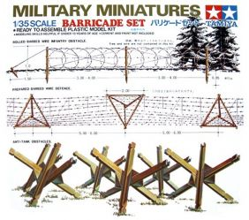 1/35 BARRICADE SET MODEL KIT #