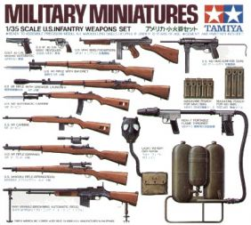TAMIYA 1/35 US INFANTRY WEAPON