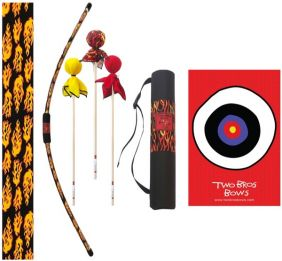 FLAME BOW DELUXE ARCHERY SET