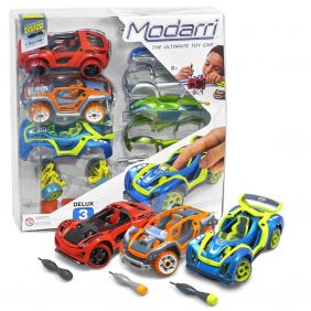 MODARRI 3 PACK DELUX CAR BUILD