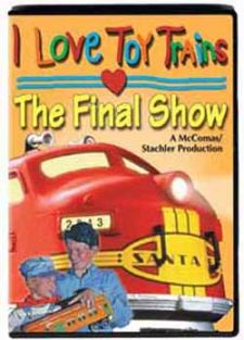 (SALE)I LOVE TOY TRAINS: THE F