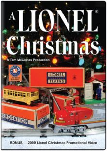 A LIONEL CHRISTMAS 1 DVD