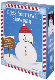 DRESS YOUR OWN SNOWMAN KIT