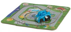 PUZZLE TRACK & CAR PLAYSET