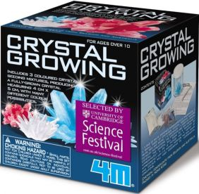 CRYSTAL GROWING KIT BY TOYSMITH