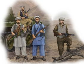 1/35 AFGHAN REBELS FIGURE SET