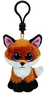 SLICK FOX-BEANIE BOOS CLIP-ON