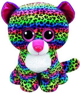 DOTTY LEOPARD-BEANIE BOOS LARGE