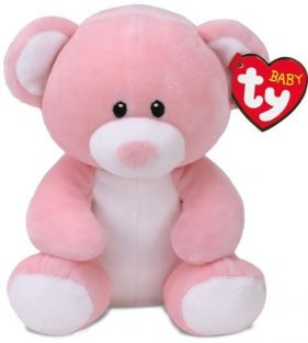 "PRINCESS PINK BEAR 16"" PLUSH"