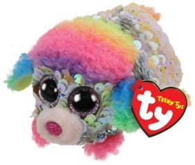 RAINBOW POODLE-SEQUIN TEENY TY