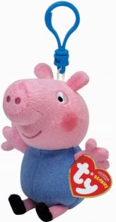 GEORGE-PEPPA PIG BEANIE CLIPON
