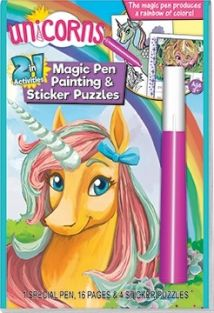 UNICORNS 2 IN 1 MAGIC PEN/STIC