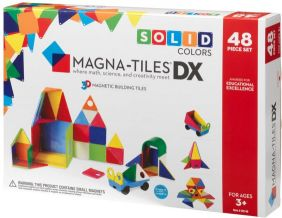 MAGNA-TILES DX SOLID COLORS 48 PC