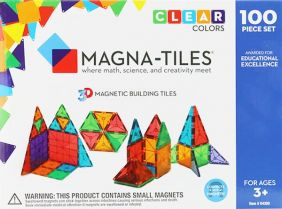 MAGNA-TILES CLEAR COLOR 100-PIECE