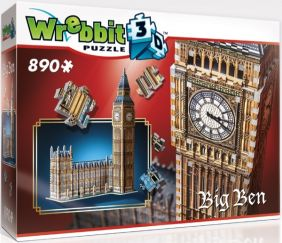 3D BIG BEN & PARLIAMENT 890PC