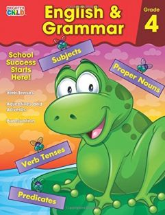 ENGLISH & GRAMMAR GRADE 4 WORK