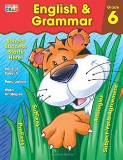 ENGLISH & GRAMMAR GRADE 6 WORK