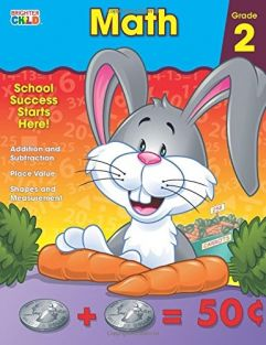 MATH GRADE 2 WORKBOOK #CD-7048