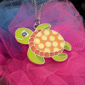 SEA TURTLE PENDANT NECKLACE #1