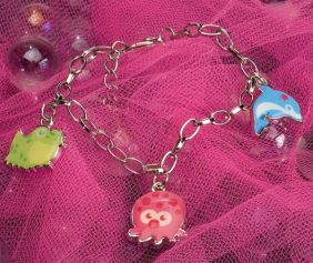 DOLPHIN, OCTOPUS, FROG DAINTY