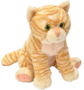 ORANGE TABBY CAT-PET SHOP 12""