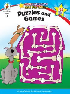 PUZZLES AND GAMES GRADE 1