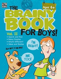 THE BRAINY BOOK/BOYS! VOL 2
