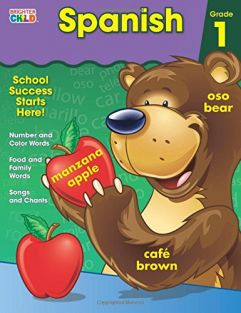 SPANISH GRADE 1 WORKBOOK CD-70
