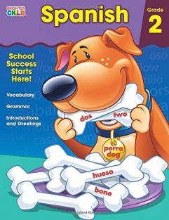 SPANISH GRADE 2 WORKBOOK #CD-7