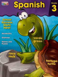 SPANISH GRADE 3 WORKBOOK #CD-7