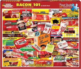 BACON 101 COLLAGE 1000-PIECE P