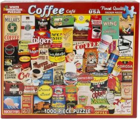 COFFEE CAFE COLLAGE 1000-PIECE