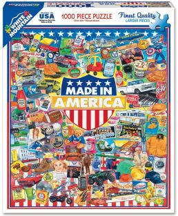 MADE IN AMERICA COLLAGE 1000-P