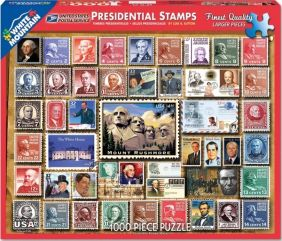 PRESIDENTIAL STAMPS 1000-PIECE
