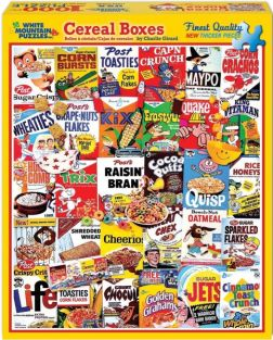 CEREAL BOXES COLLAGE 1000-PIEC
