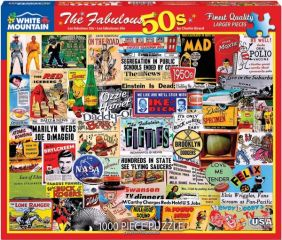 THE FABULOUS 50'S COLLAGE 1000