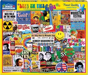 LIFE IN THE 60'S COLLAGE 1000-