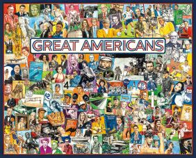 GREAT AMERICANS COLLAGE 1000-P