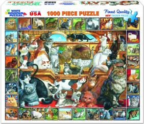 WORLD OF CATS 1000-PIECE PUZZL