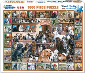 WORLD OF DOGS 1000-PIECE PUZZL