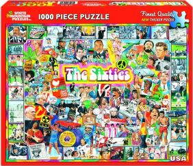 THE SIXTIES COLLAGE 1000-PIECE