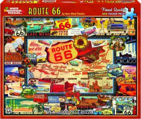 ROUTE 66 COLLAGE 1000-PIECE PU