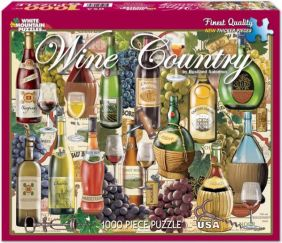 WINE COUNTRY COLLAGE 1000-PIEC