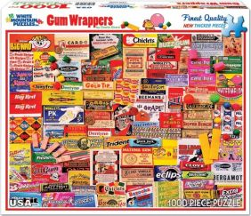 GUM WRAPPERS COLLAGE 1000-PIEC