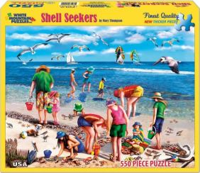 SHELL SEEKERS 550-PIECE PUZZLE