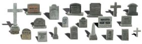 HO TOMBSTONES #A1856 BY WOODLA