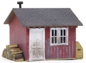 HO BUILT & READY WORK SHED #BR